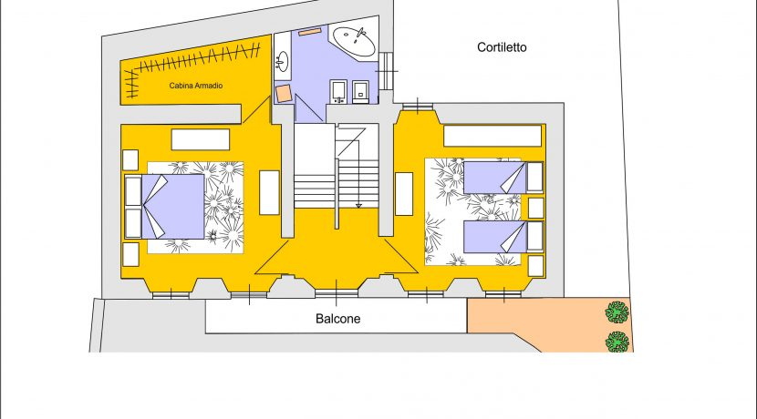 Armeno villa su tre piani con garage e giardino ortalloggi for Piani di casa con grandi garage