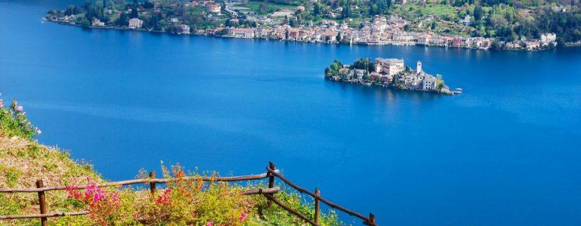 Foto dal lago d'Orta