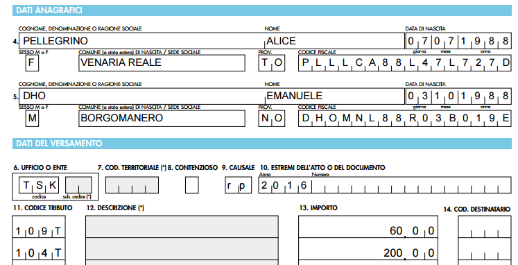 Una Volta Compilato E Pagato Il Modello F23 Per Le Tasse, Bisogna  Procurarsi Due Marche Da Bollo Cartacee Da 16 U20ac (a Meno Che Non Ci Siano  Più Di 4 Facciate ...