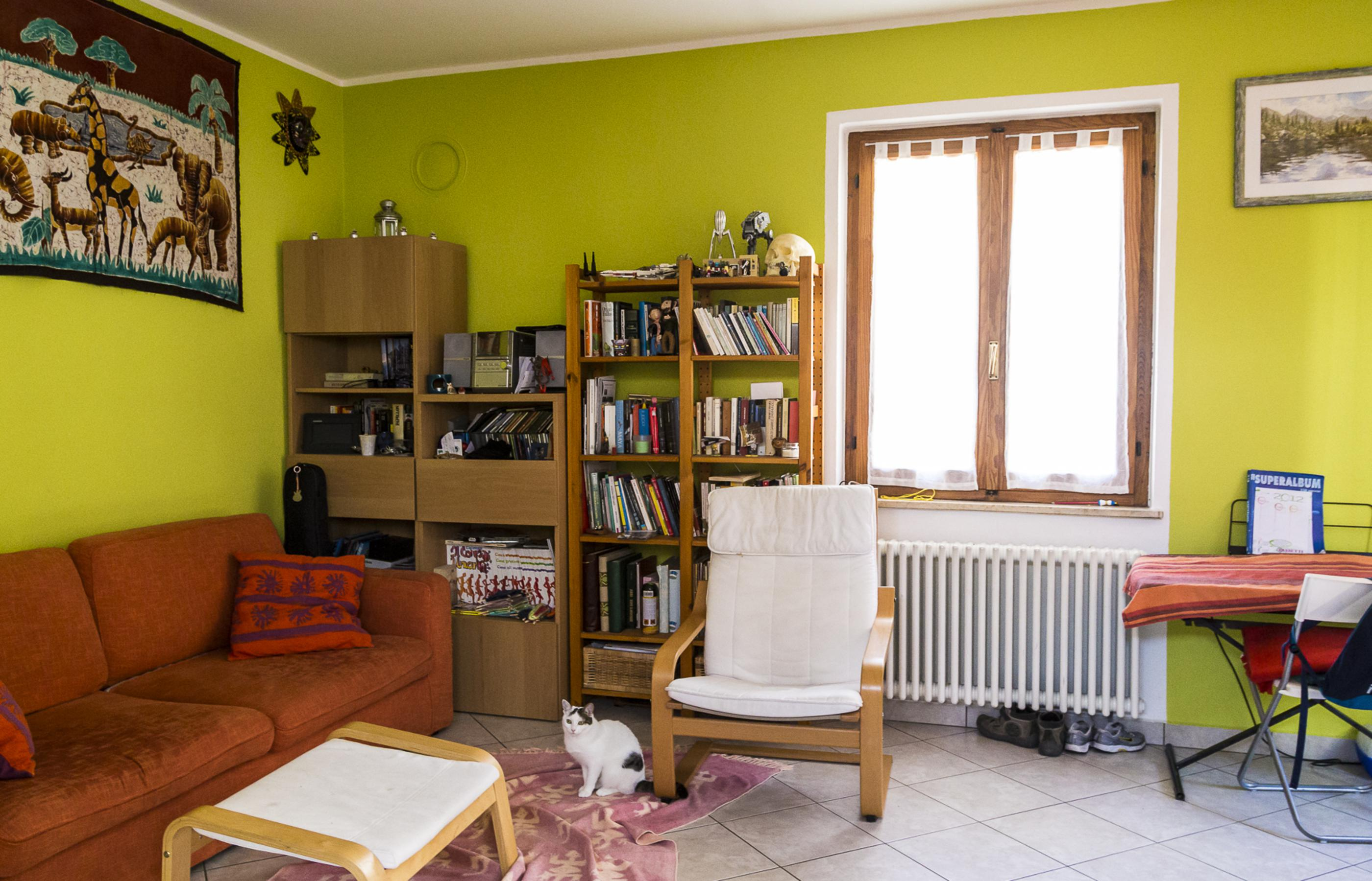 CARCEGNA Appartamento con due camere e giardino