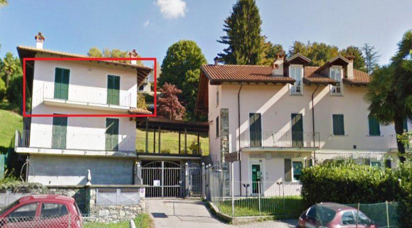 ORTA Appartamento con due camere e garage