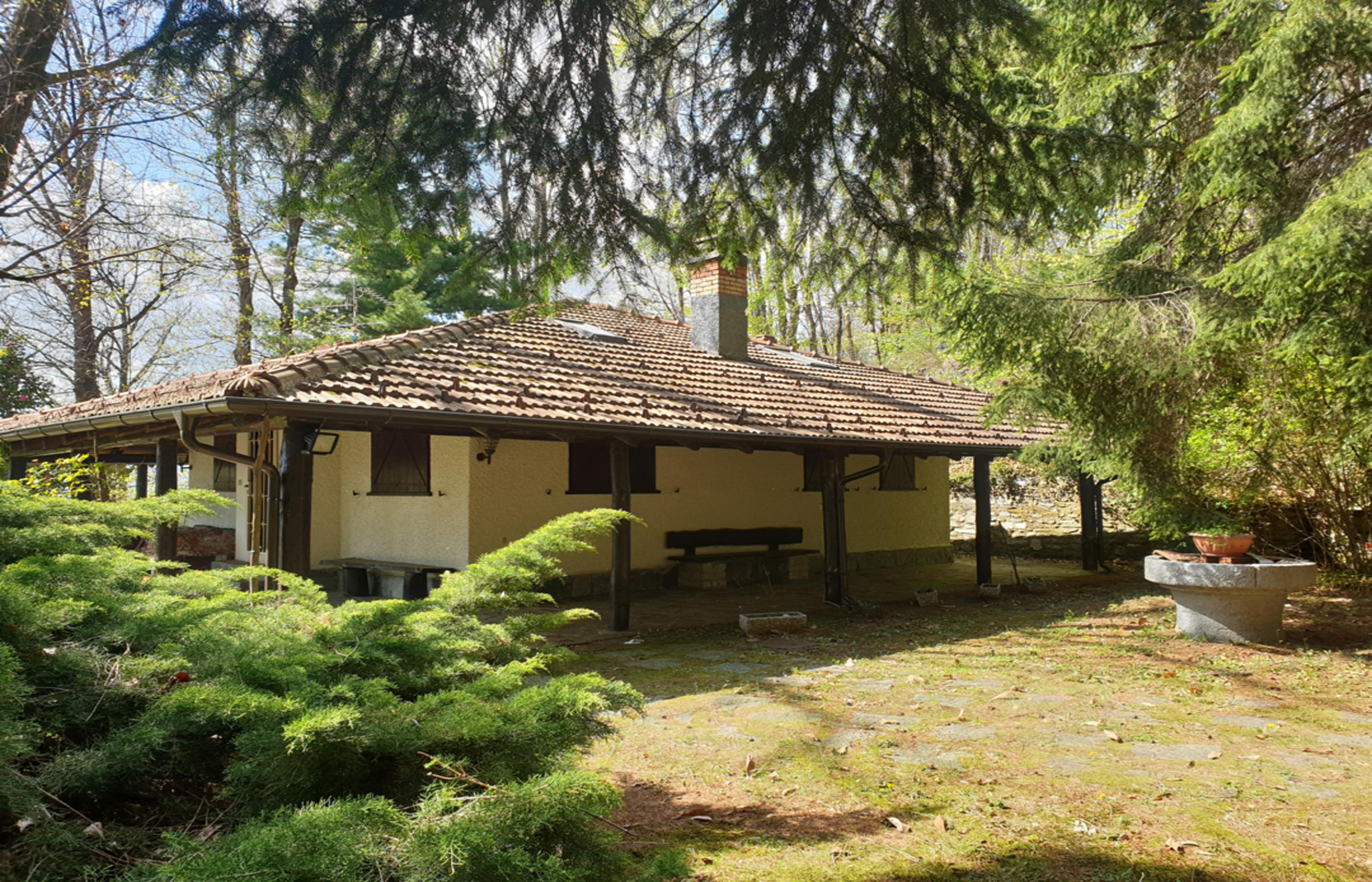 ARMENO – Chalet in the green with lake view