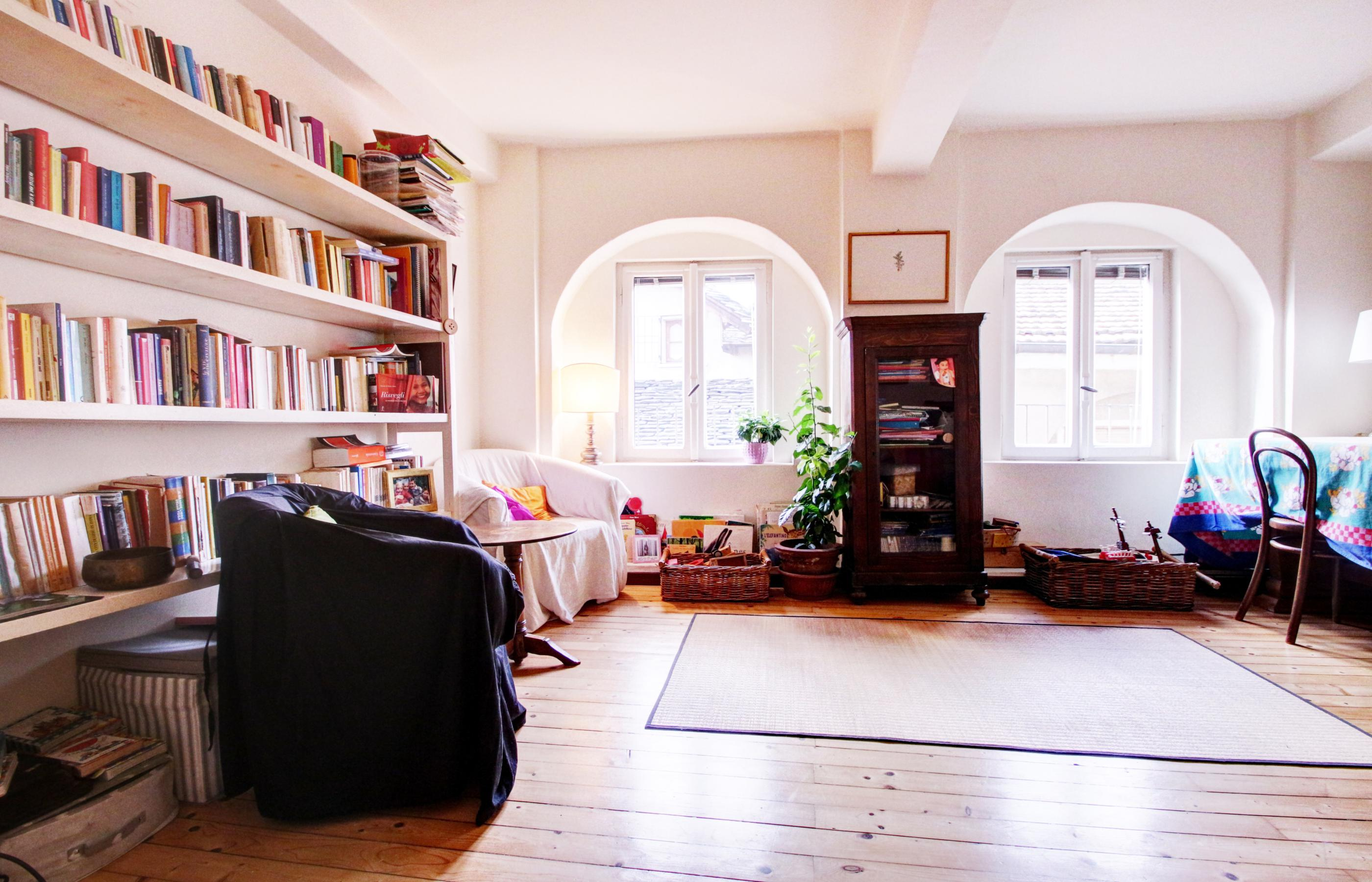 ORTA Apartment on the top floor, large and bright