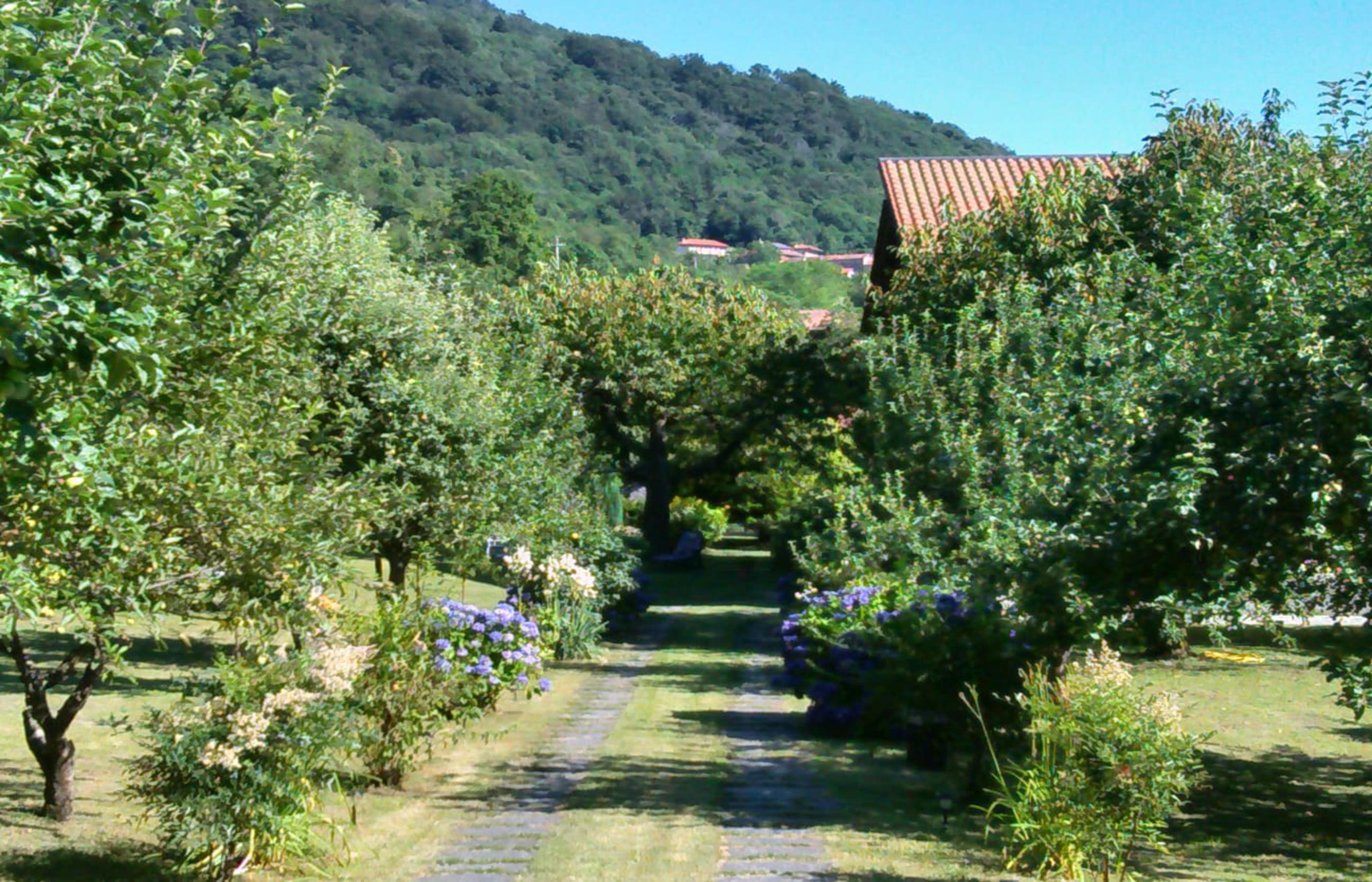 OMEGNA Villa con due appartamenti e ampio giardino pianeggiante