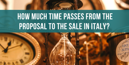 How long does it take from the proposal to the sale in Italy?