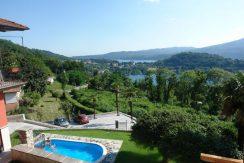 MIASINO Appartamento con splendida vista lago